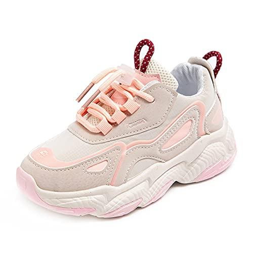 DEBAIJIA Scarpe da Bambini 3-10T Ragazza Sneakers Ragazzo Antiscivolo Casual Traspirante TPR Materiale 35 EU Rosa