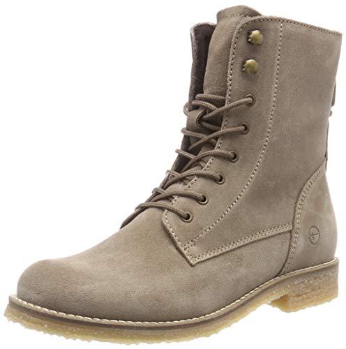 Tamaris Damen 25275-21 Combat Boots, Braun (Taupe 341), 39 EU