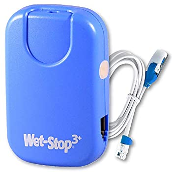 Wet-Stop 3 Blue Bedwetting Enuresis Alarm with Loud Sound and Strong Vibration for Boys or Girls Proven Solution for Bedwetters