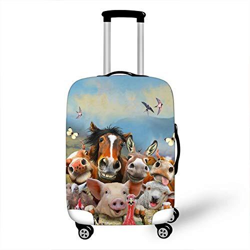 Beschermhoes voor kofferbak voor dieren, verdikt, slijtvast,  Rosa Roja (blauw) - errhf656566410