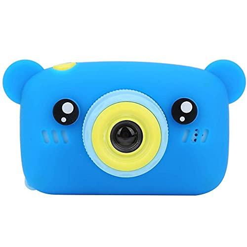 Tastak Cámara Digital para niños, Mini cámara DV Digital de 1.2MP con Dibujos Animados de Juguete y diversión con Pantalla IPS de 2.0 Pulgadas para Tomar fotografías/Grabar/Pegatinas de Fotos/di