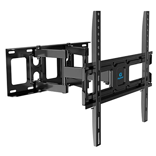 TV Wall Mount Bracket Full Motion Dual Swivel Articulating Arms Extension Tilt Rotation, Fits Most...
