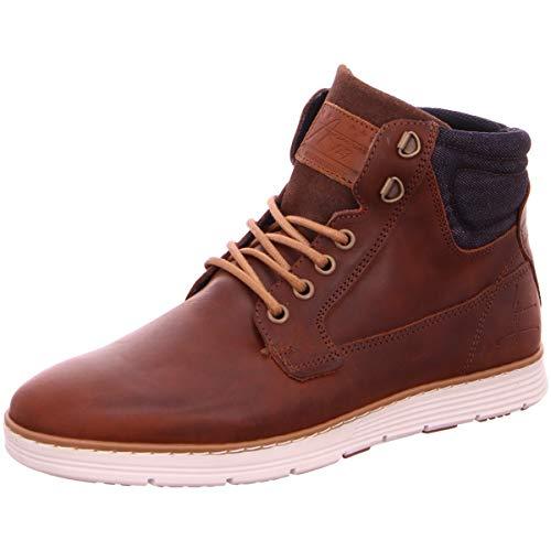 BULLBOXER Herren Sneaker high Cognac 44