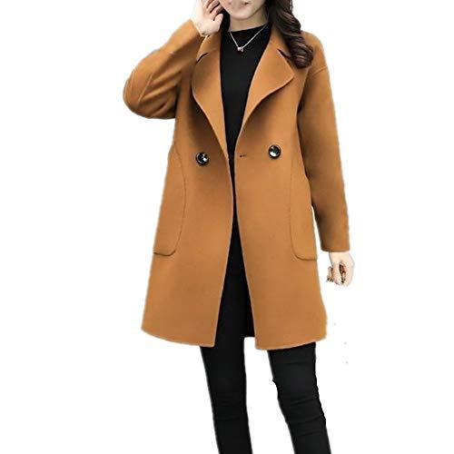 N\P Abrigo de lana para mujer