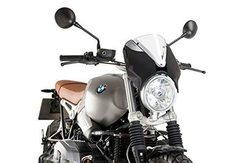 Puig 9338W Windschild RetroVision z.B. BMW R nineT Scrambler 2016- Verkleidung s Set
