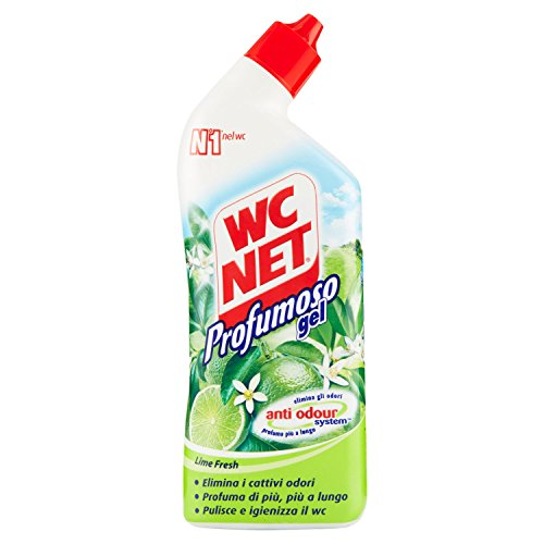 Wc Net Profumoso Gel Lime Fresh - 6 pezzi da 700 ml [4200 ml]