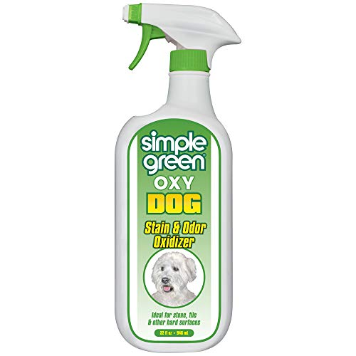 Oxy Dog Stain & Odor Oxidizer – Peroxide Cleaner for Urine, Feces, Vomit, Drool (32 oz Sprayer)