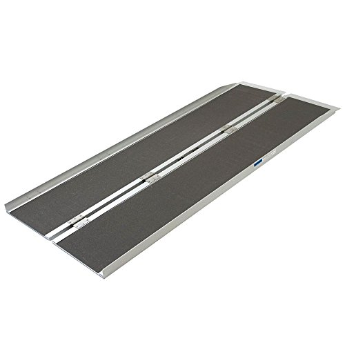 Silver Spring Aluminum Folding Wheelchair Ramp Plus 6' x 29