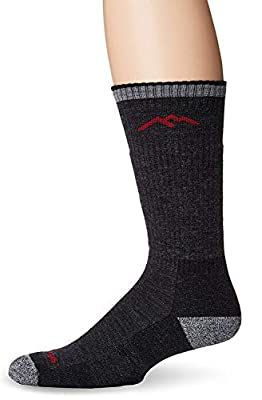 DARN TOUGH (Style 1403) Men's Hiker Hike/Trek Sock - Black, Medium