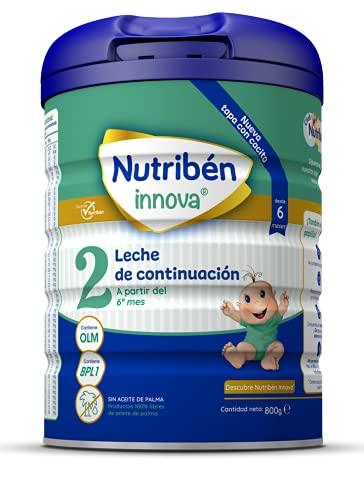 Nutribén OLM Innova 2 Leche en polvo de Continuación para bebés- de 6 a 12 meses- 1 unidad 800g