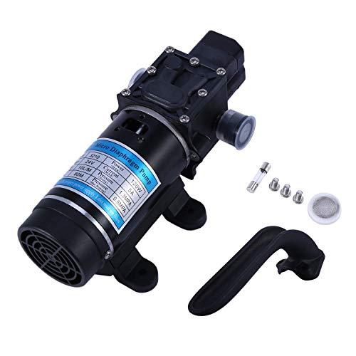 ZYL-YL Bomba de Agua eléctrica 10L / M 24V 120W autocebante Bomba de diafragma de Alta presión Lavadoras