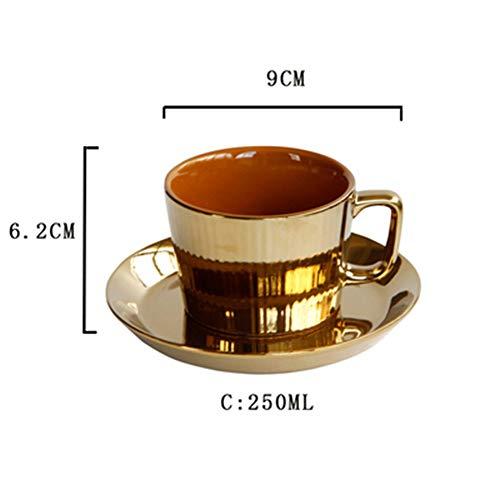 12 stuks, mochakoffie kopjes espresso koffie Mocha Service Service (Leo014),B