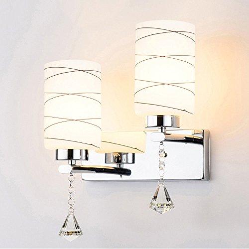 JJZHG Wandlamp, waterdicht, wandverlichting, wandlamp, slaapkamer, tweepersoonsbed, bedlamp, woonkamer, tv, wandverlichting, creatieve trap, B bevat: wandlamp, stoere wandlampen