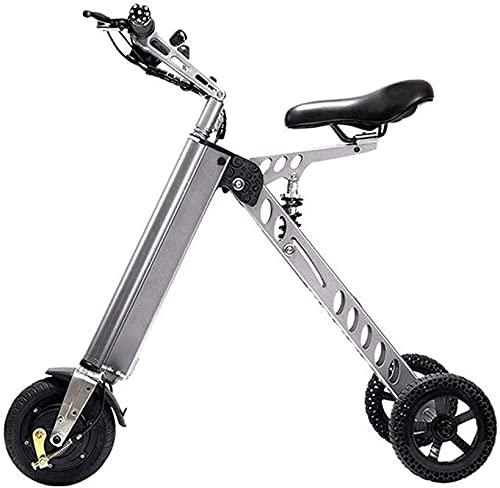 Bicicleta electrica Bicicletas eléctricas rápidas para adultos Pequeño Pequeño Eléctrico Bicicleta Adulto Plegable Bicicleta eléctrica Scooter Pequeño Mini Triciclo eléctrico Batería femenina Biciclet