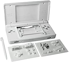 OSTENT Full Repair Parts Replacement Housing Shell Case Kit Compatible for Nintendo DS Lite NDSL Color White