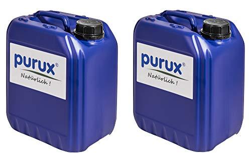 Purux Oxy3 pro 25 Liter Bundle (5x5L) Wasserpflege chlorfrei statt chlor flüssig/chlortabletten oxy-3