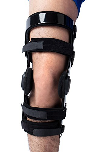 Orthomen Functional Knee Brace - for ACL/MCL/PCL/Meniscus/Ligament/Sports Injuries (L/Right)