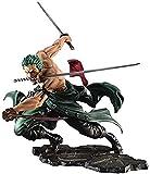 LIUXIN Retrato de Piratas de una Pieza: Figura de PVC de Sa-MAX Roronoa Zoro (versión San Zen)