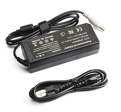 Laptop Charger for Lenovo ThinkPad,90W AC Power Adapter Charger for Lenovo ThinkPad T400 T410 T420 T420s T500 T520 T530 X201 X220 X230 X140e T61 E420 E430 E520 E530 E545 SL510 S230u 40Y7659