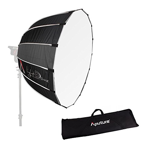 4. Aputure lumière dôme 88,9cm Boîte à lumière avec Bowen-s Speed Ring avec Sac de Transport pour Aputure lumière Storm COB 120T et Autres Bowen-s projecteurs lumières