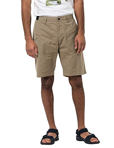 Jack Wolfskin Tanami Shorts Men Shorts Homme Sand Dune FR: XL (Taille Fabricant: 56)