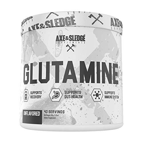 Axe & Sledge L-GLUTAMINE 200g (40 Servings)