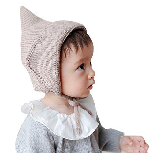 Babybekleidung Hüte & Mützen Longra Baby Mädchen Jungen Gestrickte häkeln Solid...