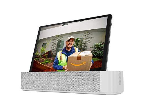 """Lenovo Smart Tab M10 FHD Plus (2e gén.) tablette tactile 10.3"""" avec Alexa (MediaTek Helio P22T 8Coeurs, 2 Go de RAM, eMMC 32 Go, Android, Wifi, Bluetooth) + Station d'accueil / Enceinte connectée"""