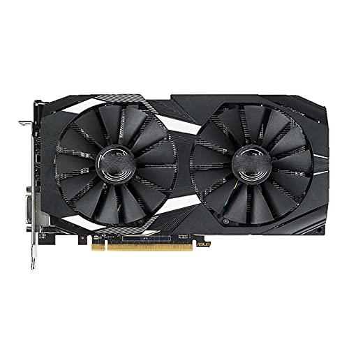 Tarjeta de Video Apta para fit for ASUS RX 580 8GB GPU AMD Radeon RX580 8GB Tarjetas gráficas PUBG Pantalla de Juegos de computadora VGA DVI Tarjeta de Video HDMI 570560550