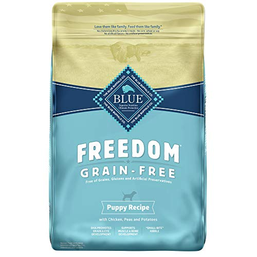 Blue Buffalo Freedom Grain Free Natural Puppy Dry Dog Food Chicken 24-lb
