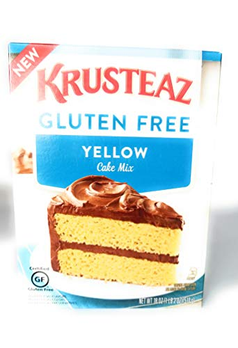 Krusteaz Gluten Free Yellow Cake Mix 18 Ounce Pack Of 2