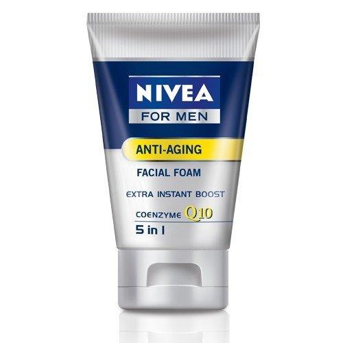 Nivea for Men Q10 anti aging facial foam 100 ml.