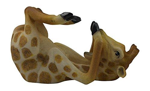 KW Collectibles & Gifts Home Decor Drinking Giraffe Wine Rack Kitchen Bar Decorative Sculpture Statue Centerpiece Wine Bottle Holder Stand Figurine