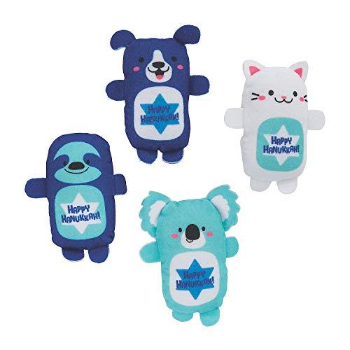 Hanukkah Stuffed Animal Assortment - Toys - 50 Pieces