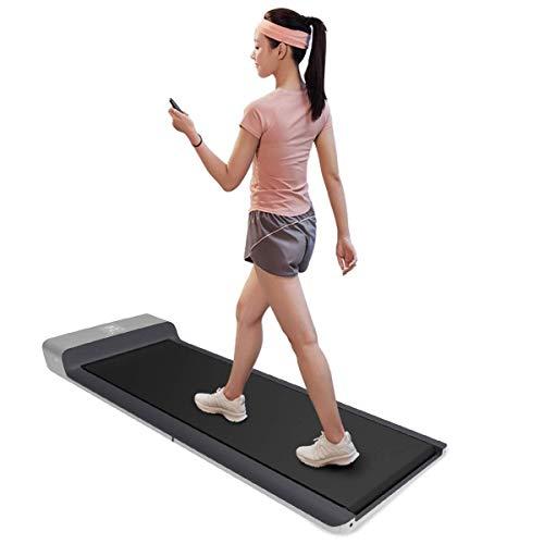 UIZSDIUZ Plegable rodante Caminar Smart Pad Correr Ejercicio Fitness Equipment, Libre de la instalación de bajo Ruido Footstep Inducción de Control de Velocidad