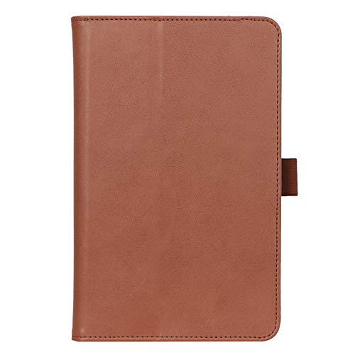 ISIN Premium PU Folio Protective Case Stand Cover for Samsung Galaxy Tab A 8.4-inch 2020 SM-T307(No for Tab A 8.0 SM-T290 T295 P200 P205 T350 T355 P350 P355 T380 T385 T387) Android Tablet PC(Brown)