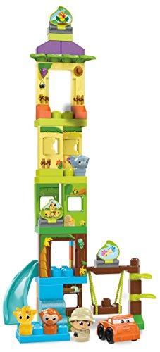 Mega Bloks Mattel DPJ58 Schaukel und Rutsche Safariset