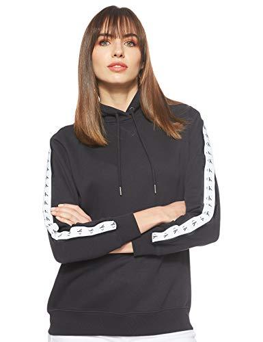 Calvin Klein Jeans Damen Sweatshirt Monogram schwarz XS