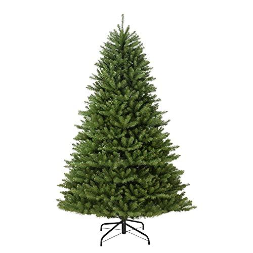 Puleo International 7 Foot Un-Lit Fraser Fir Artificial Christmas Tree