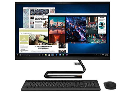 Lenovo 27' FHD Touchscreen All-in-One Ideacentre 3 PC with Intel 8 Core i7-10700T Processor up to 4.5 GHz, CD/DVD Drive, 16GB DDR4 RAM, 512GB PCIe SSD Plus 1TB HDD, Windows 10