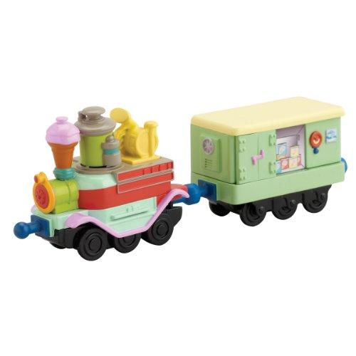 Chuggington Die-Cast – Les Wagons Glace de Frostini – Véhicules Miniatures 6 cm