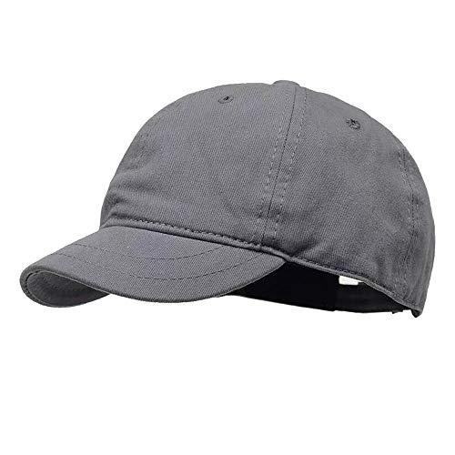 Clape Baumwolle Outdoor Short Brim Baseball Cap, Cooling Trucker Hat Sommer Hut für Laufen, Reisen, Angeln