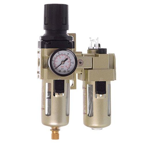 Perslucht onderhoudseenheid drukregelaar olie voor compressor 1700l/min slagmoersleutel 1/4