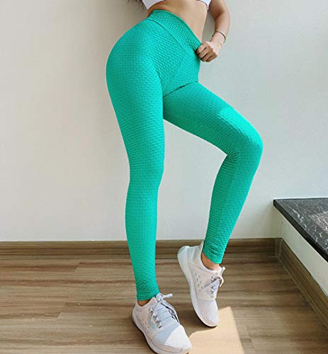 Stretch yogabroek Slim Fit sportbroek,Dames Fitness Trainingsbroek met hoge taille, Atletische yogabroek, Gym legging Scrunch Butt Sport Leggings