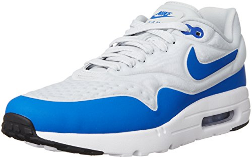 Nike Herren Air Max 1 Ultra SE Low-Top, Grau (Natural Gray/Game Royal-Natural Gray-Black), 40.5 EU