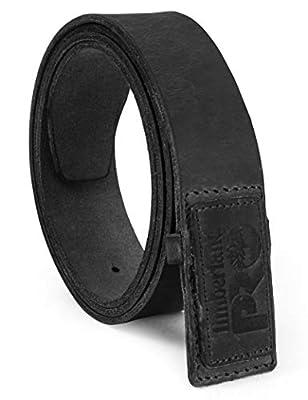 Timberland PRO Men's No-Scratch No Buckle Mechanic Belt, Black, 34