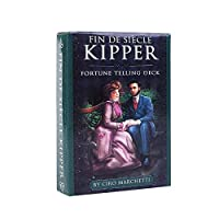 Fin de Siècle Kipper キッパータロットデッキ、EGuideブックEinstructionベルベットバッグ占い運命予測カードゲーム付き