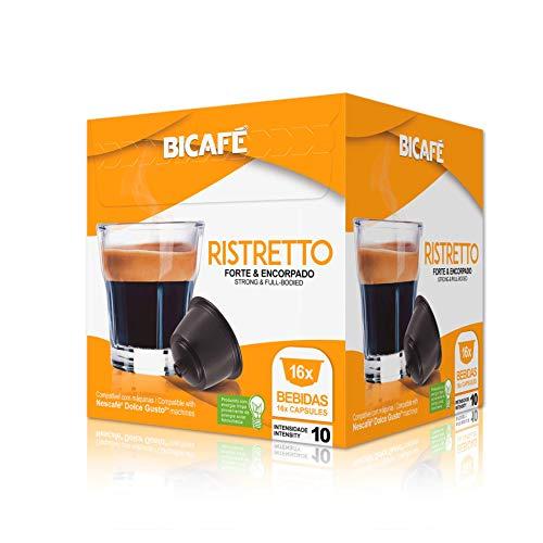 Bicafe - Capsulas compatibles Dolce Gusto ristretto