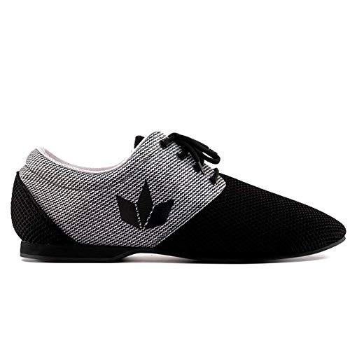 Manuel Reina - Zapatos de Baile Latino Hombre Daniel Sport B/G - Bailar Bachata y Salsa (41 EU)