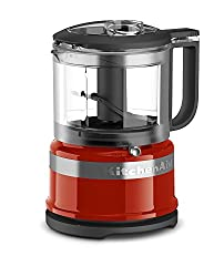 KitchenAid food chopper in red